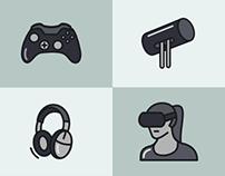 Oculus Glyph Icons