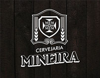 Labels for the BRAZILIAN BREWERY MINEIRA.