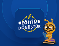 Turkcell #EgitimeDonuştur UI Design