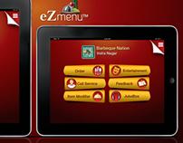 Interactive Menu App