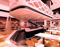 视幻菱形餐厅