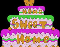 """Logotipo """"Home Sweet Home"""""""