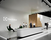 * Electrolux * exhibition stand *