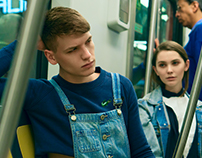 SUBWAY - Fashion editorial for Phoenix Magazine UK