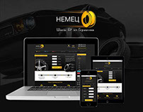 """Online Tires Store """"Nemec"""""""