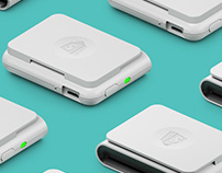 Shopify Card Reader CGI shots