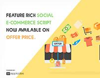 Feature-rich Social E-commerce Script Now Available On