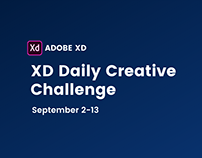 XD Daily Creative Challenge - September