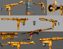 OLD ARMOR GUN
