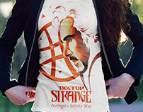 Doctor Strange T-Shirt - Superfan Contest 2018