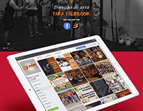 Direção de arte para facebook - Body Coach Club
