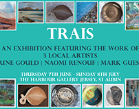 The Harbour Gallery 2018 - various flyers, branding etc