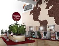 Стенд для Nescafe Professional