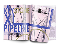 The Keystone XL Pipeline Magazine Spread