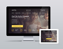 Kush Diamonds - Web Design
