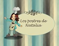 """Recetario """"Los postres de Natalia"""""""