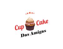 Logo Cupcake das Amigas.
