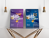 Posters // Lucas Thang Party