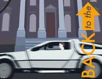 Back to the Future Poster #1