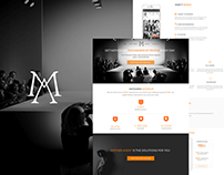 Mother Agent - Landing page
