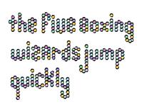 Original Typeface - Macaroons