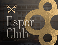 Landing Page for the real estate Esper Club