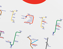 The London Underground typeface  - University Project