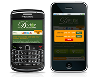 Divine Home Care Mobile Version Website Design