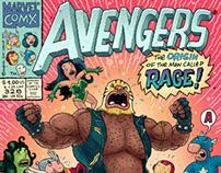 AVENGERS cover #328