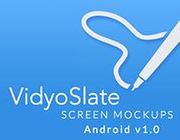 VidyoSlate: Android