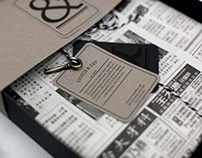 Stitch & Key Men's Clothing Co. Branding and Packaging