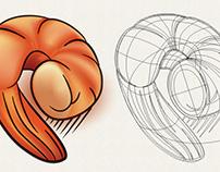 Ilustração de ingredientes para o SPOLETO