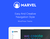 Elements - Marvel Vertical Menu WordPress Theme