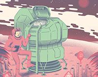 Usbek & Rica - Colons de l'espace