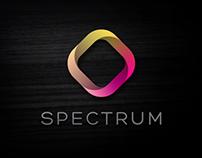 spectrum | fictive logo design