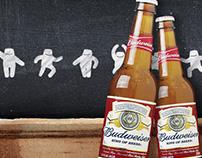 Segure essa Budweiser! - Game + Design + Animação