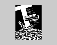 Typographically Speaking – Event Poster