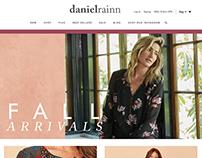 Daniel Rainn Landing Page/ Frame Wire Design