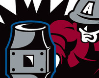 Alabama Slammers Team Logo