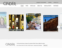 Cinder Wines Website Development