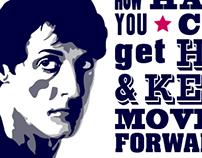 Rocky's Speech Poster