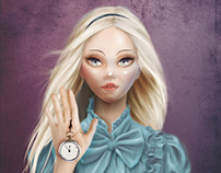 ALICE (Cameo Portrait)
