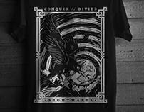 Conquer Divide // T-Shirt Illustration