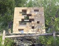 Wooden House - Sou Fujimoto
