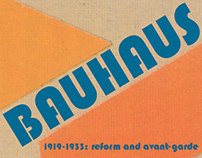 Bauhaus Book Design