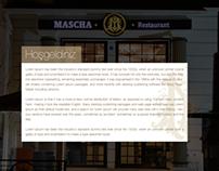 Mascha Restaurant Website