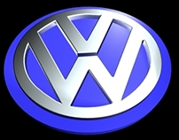 Wizualizacja 3D - Logo Volkswagen