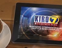 KIRO 7 iPad app