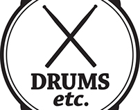 Logo Redesign: Drums Etc.