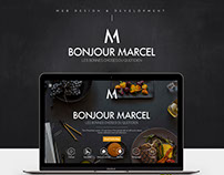 Web Design & development - Bonjour Marcel
